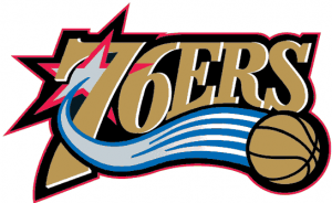 philadelphia 76ers logo11 300x184 Philadelphia 76ers vs Toronto Raptors
