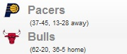 Pacers vs Bulls (Game 2)