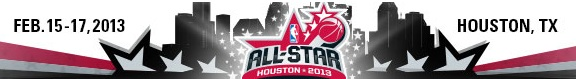 NBA All Star Weekend- Houston 2013(logo)