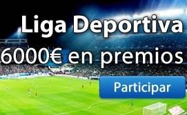 Concurso Todoapuestas: LIGA DEPORTIVA JUEGGING 500 euros en juego.