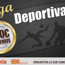#LigaDeportiva con 350€ en premios